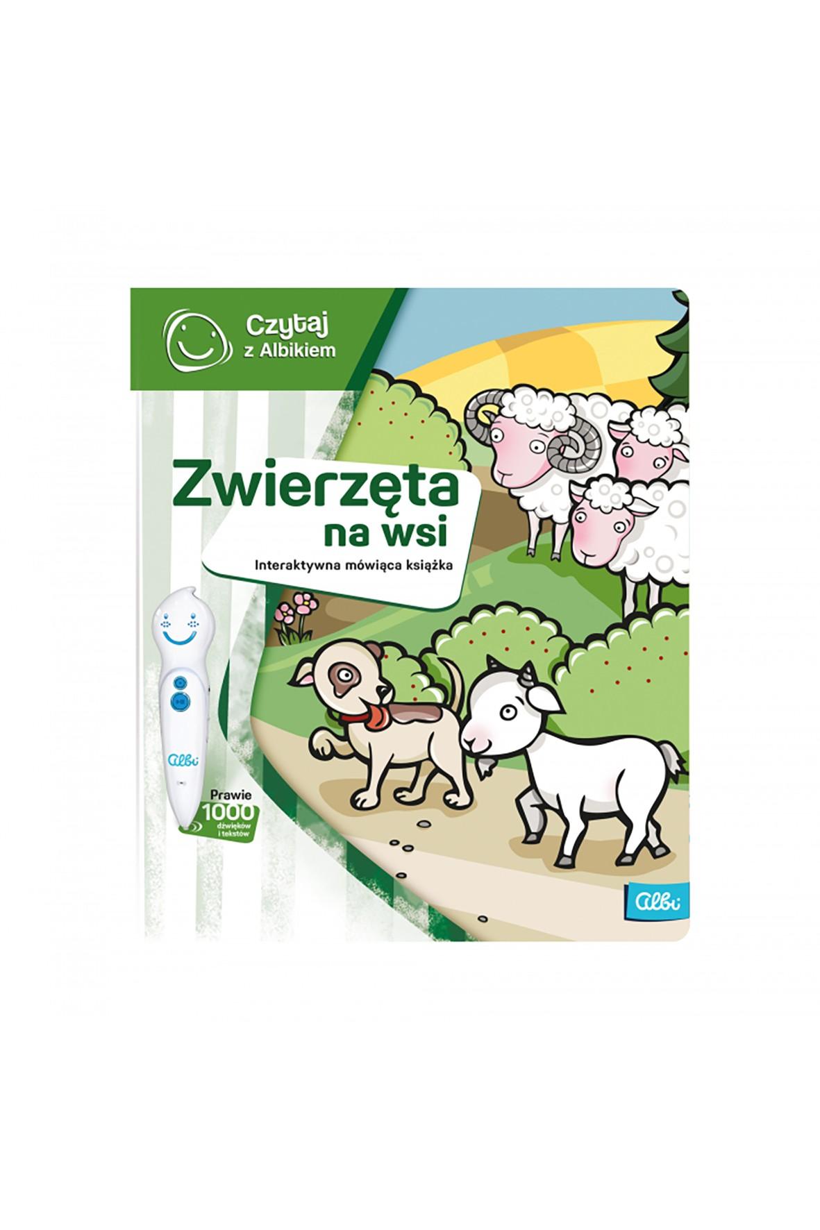 Książka Zwierzęta na wsi