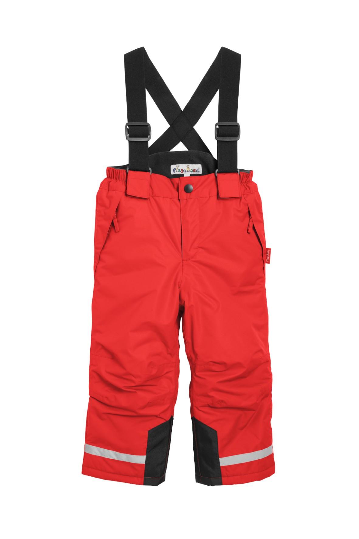 Spodnie narciarskie dla dziecka ocieplone z elemantami odblaskowymi