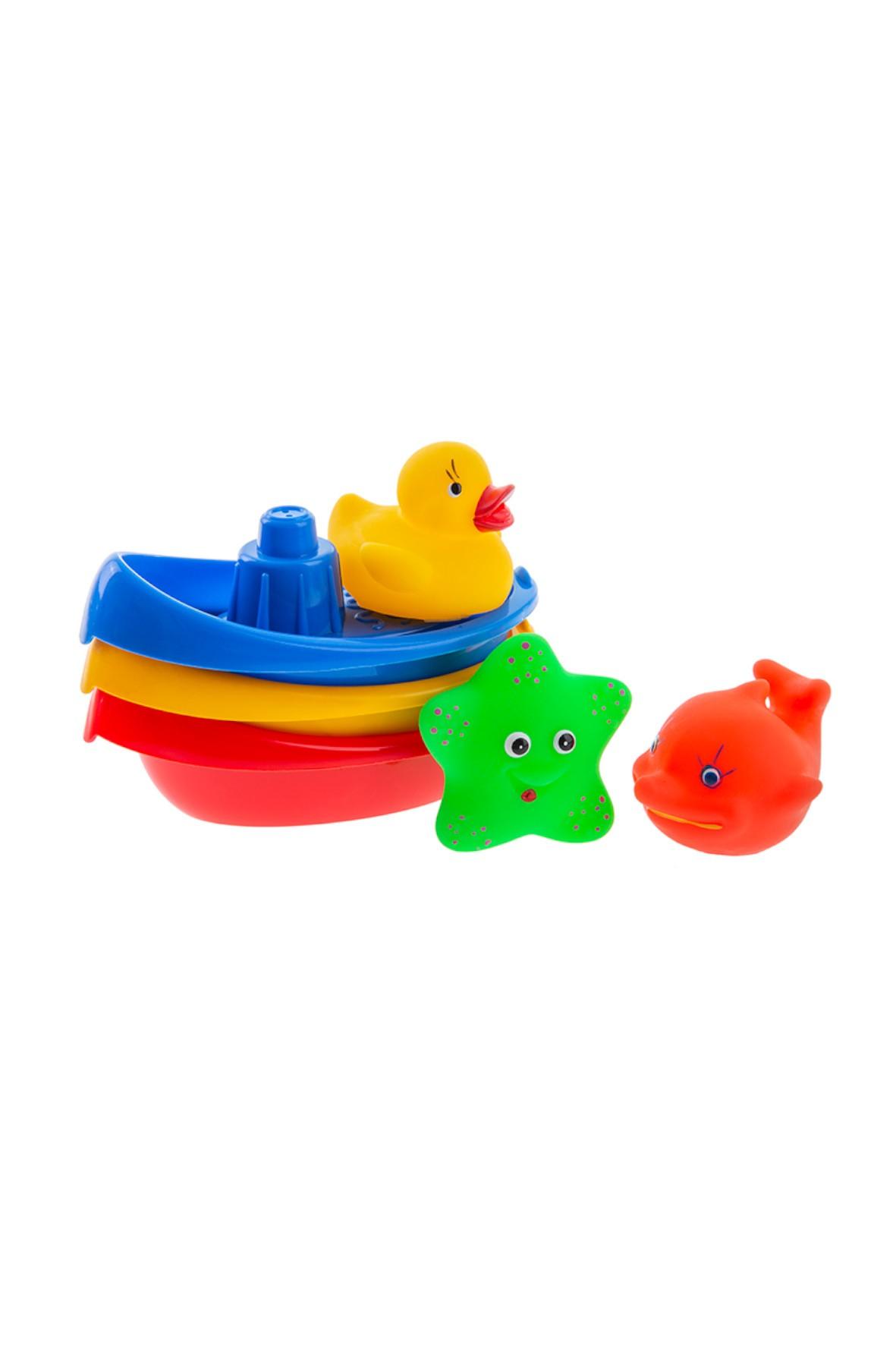 Łódeczki do kąpieli + zwierzątka