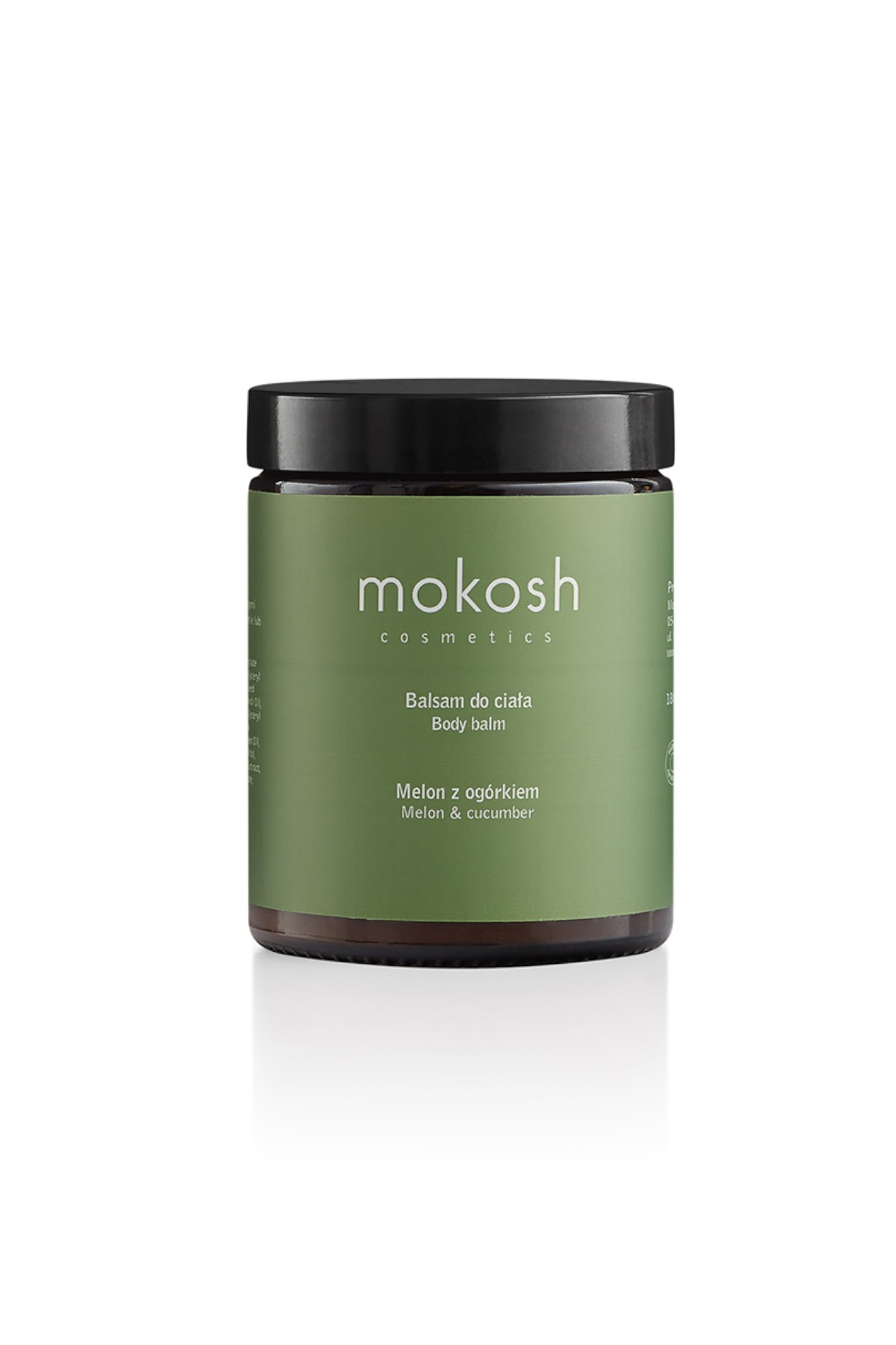 Mokosh Balsam do ciała Melon z ogórkiem 180 ml