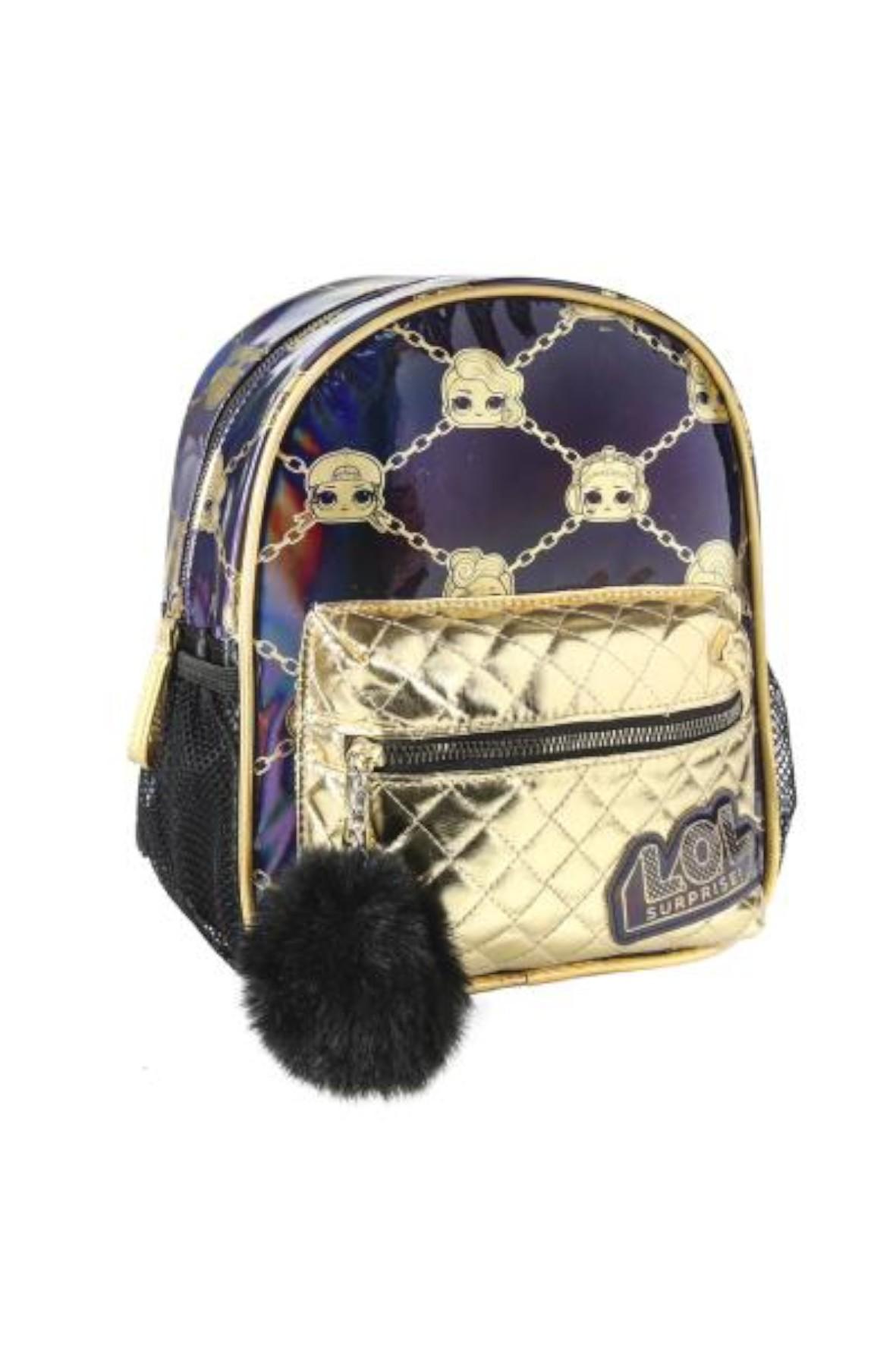 Plecak fashion LOL Surprise- złoty