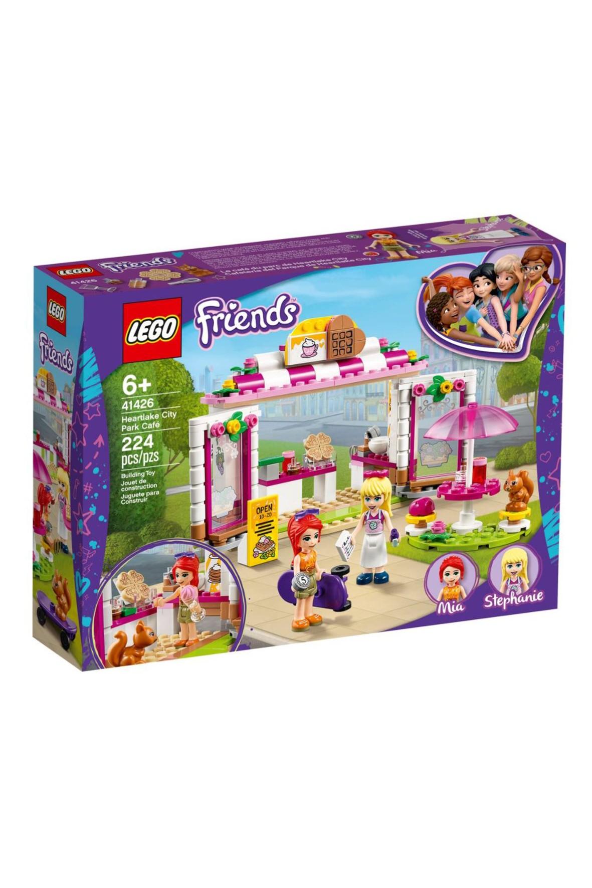 Lego Friends - Parkowa kawiarnia w Heartlake City - 224 elementy wiek 6+