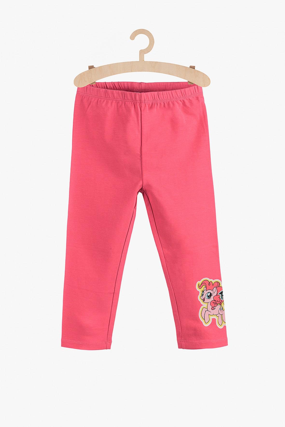 Leginsy dziewczęce My Little Pony- różowe