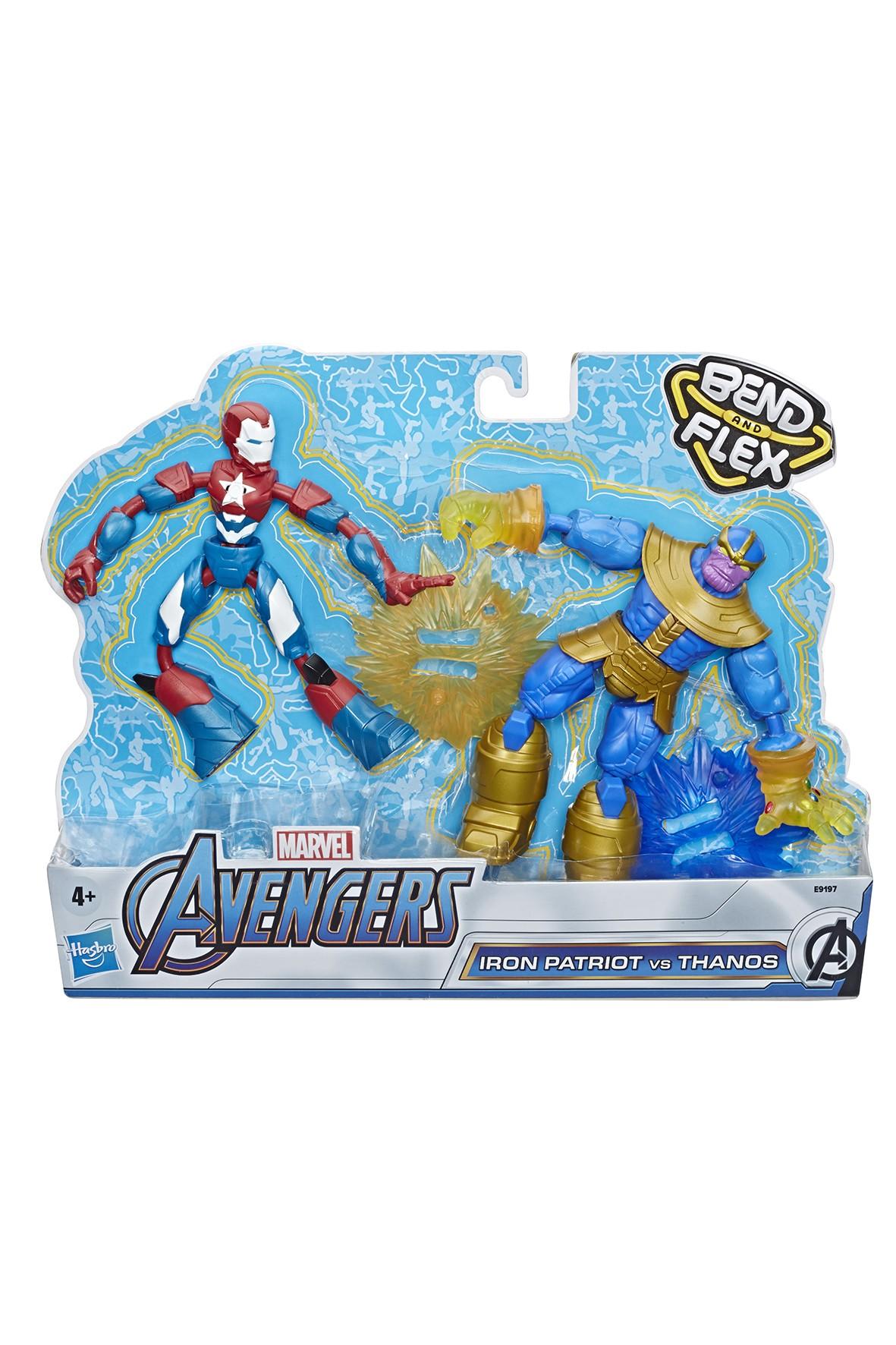 Figurki Avengers Bend n Flex 2pak