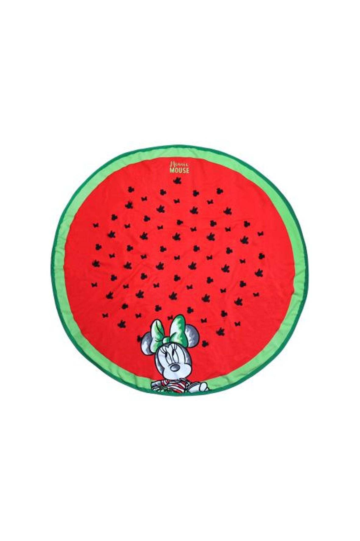 Okrągły ręcznik Myszka Minnie ∅130cm