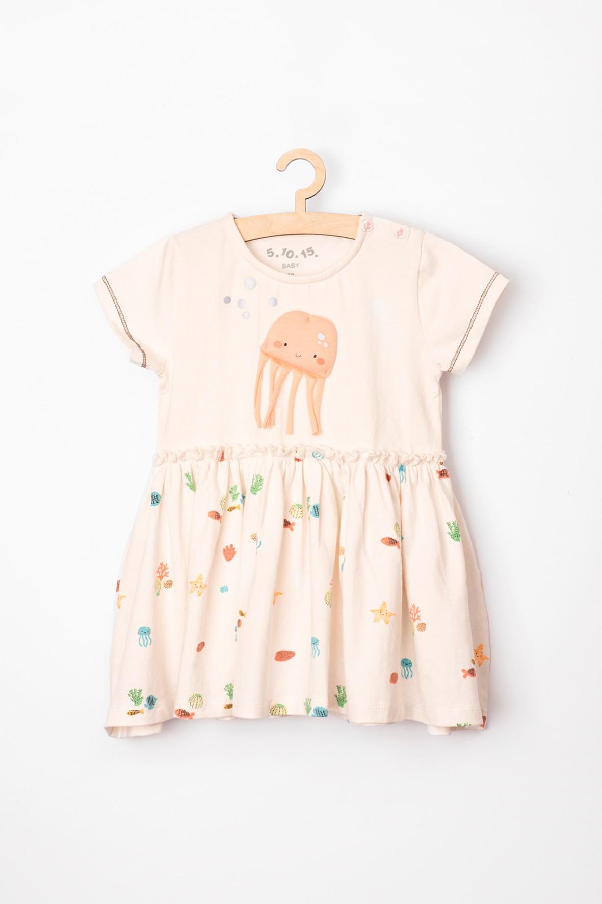 Sukienka niemowlęca z dzianiny