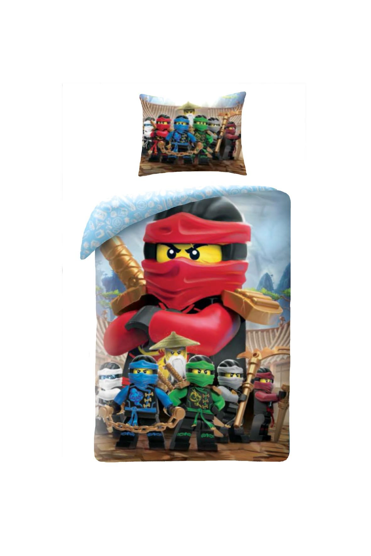 Pościel Lego Ninjago 140x200+70x90cm