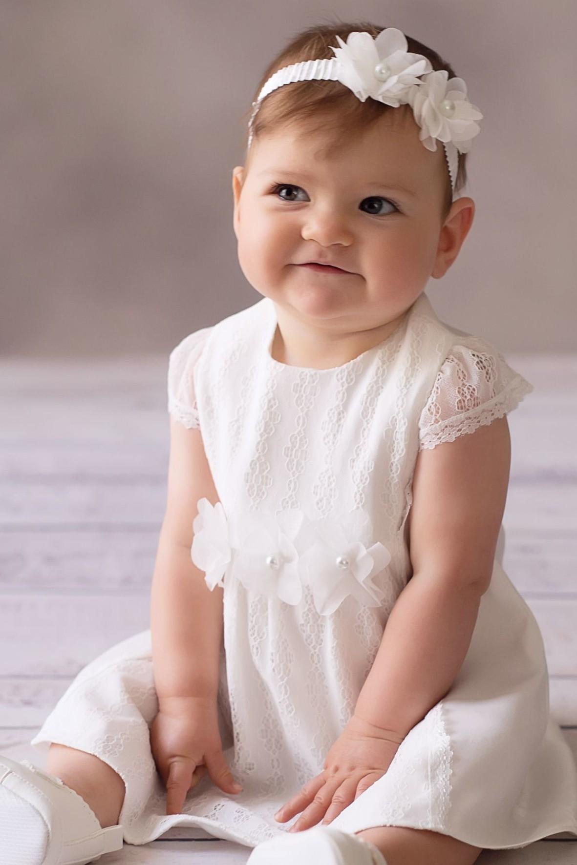 Sukienka niemowlęca do chrztu- Michalina