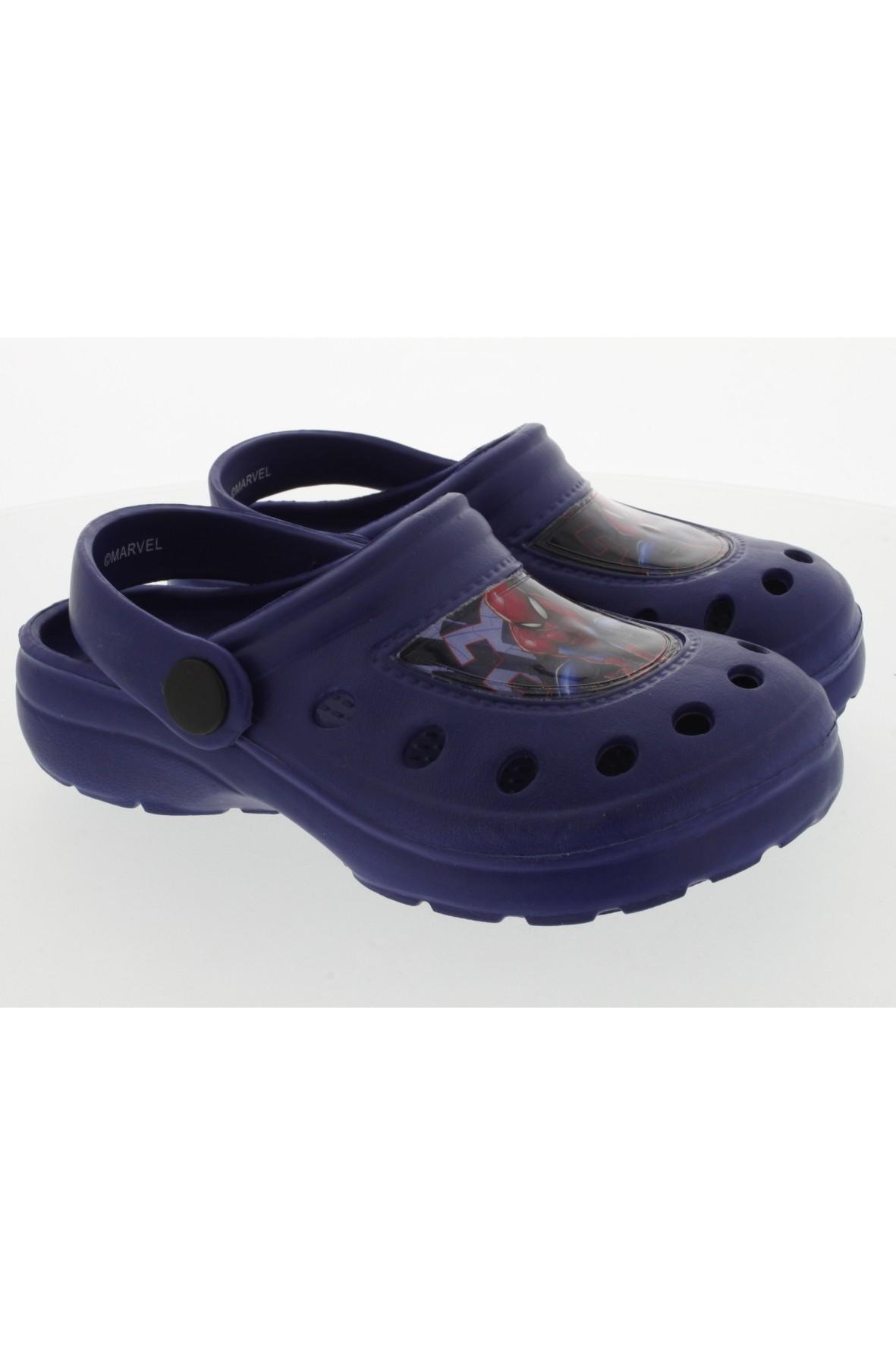 Granatowe sandały dla chłopca Spiderman
