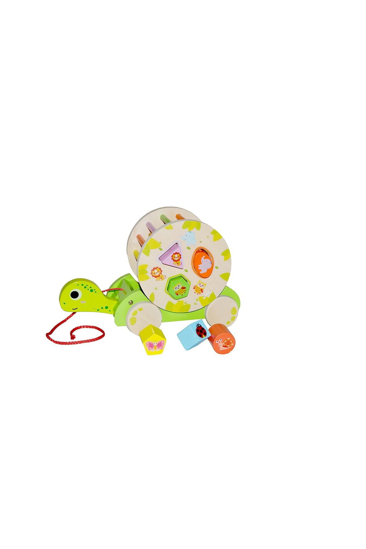 Drewniana zabawka edukacyjna - Gra Łowienie 3w1 Smily Play