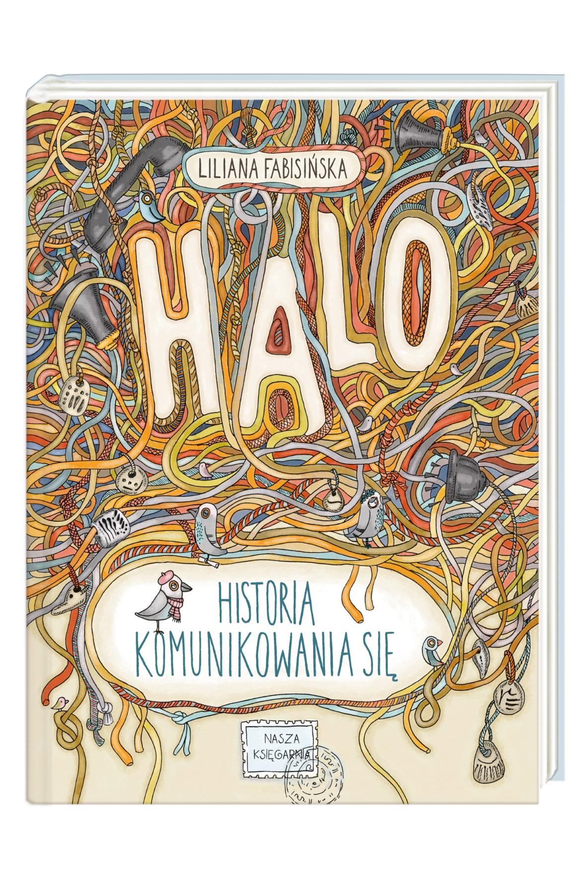 "Książka ""Halo! Historia komunikowania się"""
