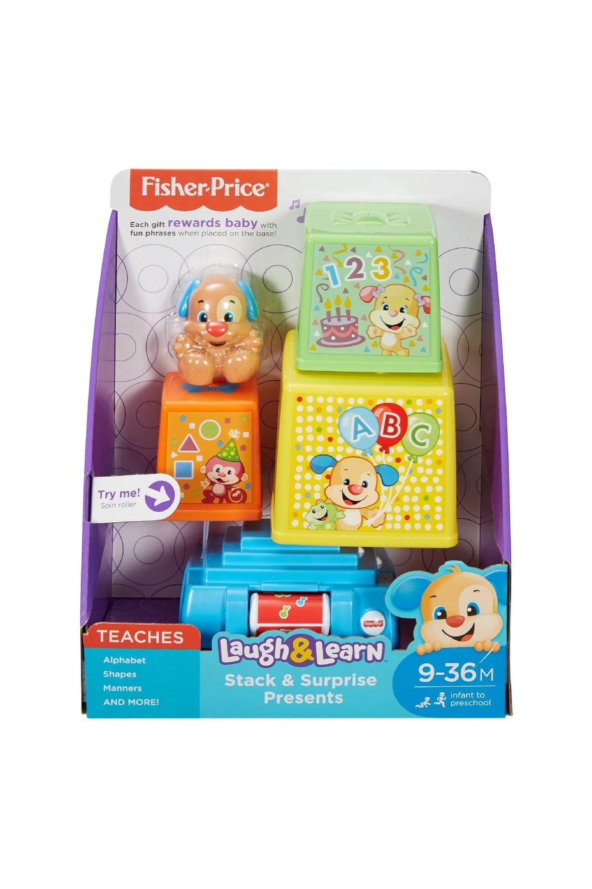 Zabawka interaktywna Prezenciki Fisher Price 9msc+