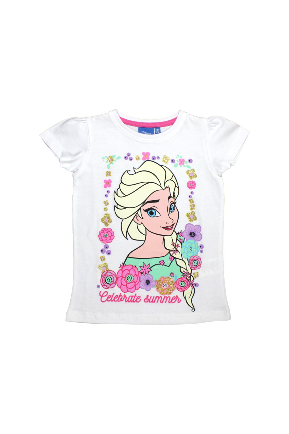 T-shirt dziewczęcy Kraina Lodu