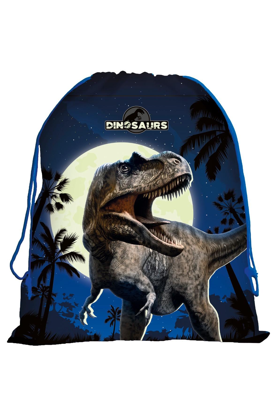 Worek na obuwie z dinozaurem