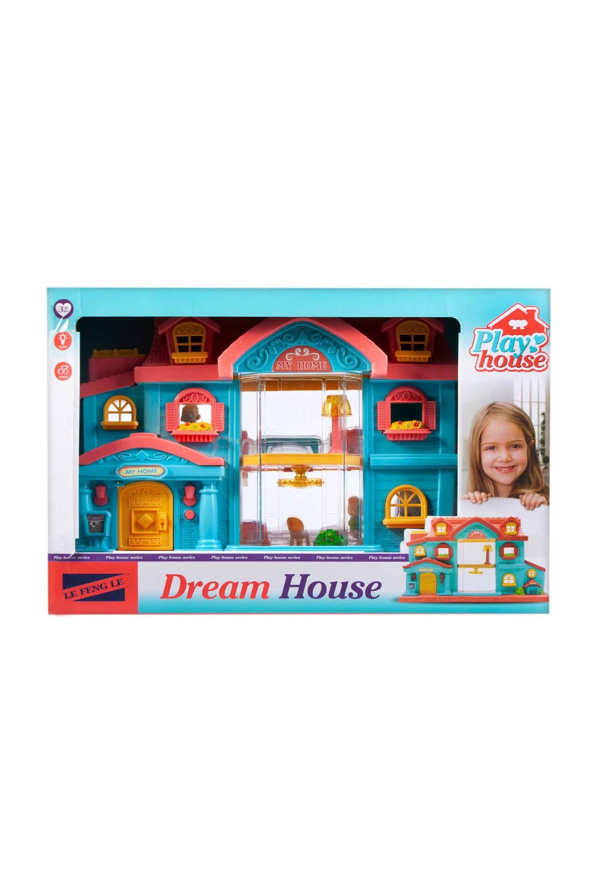 Domek dla lalek Mega Creative 3+