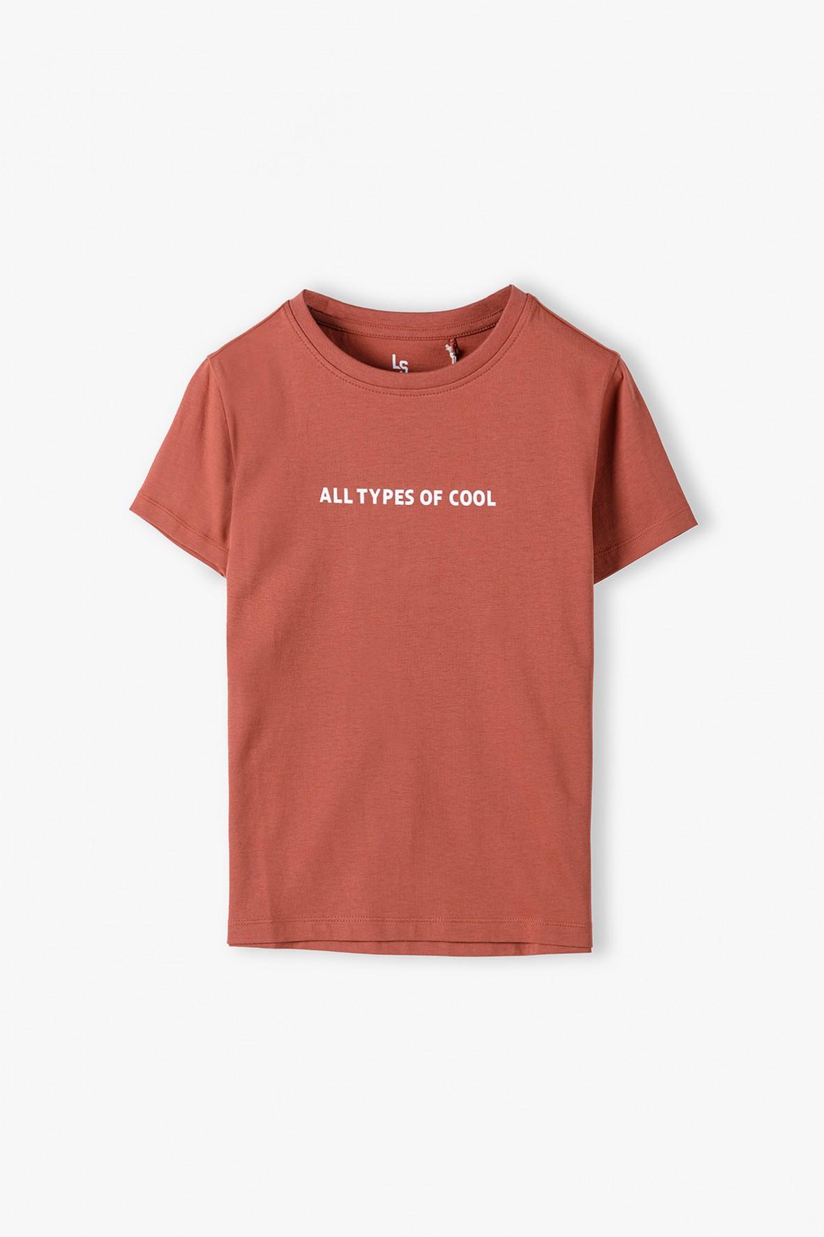 T-shirt chłopięcy - All types of cool
