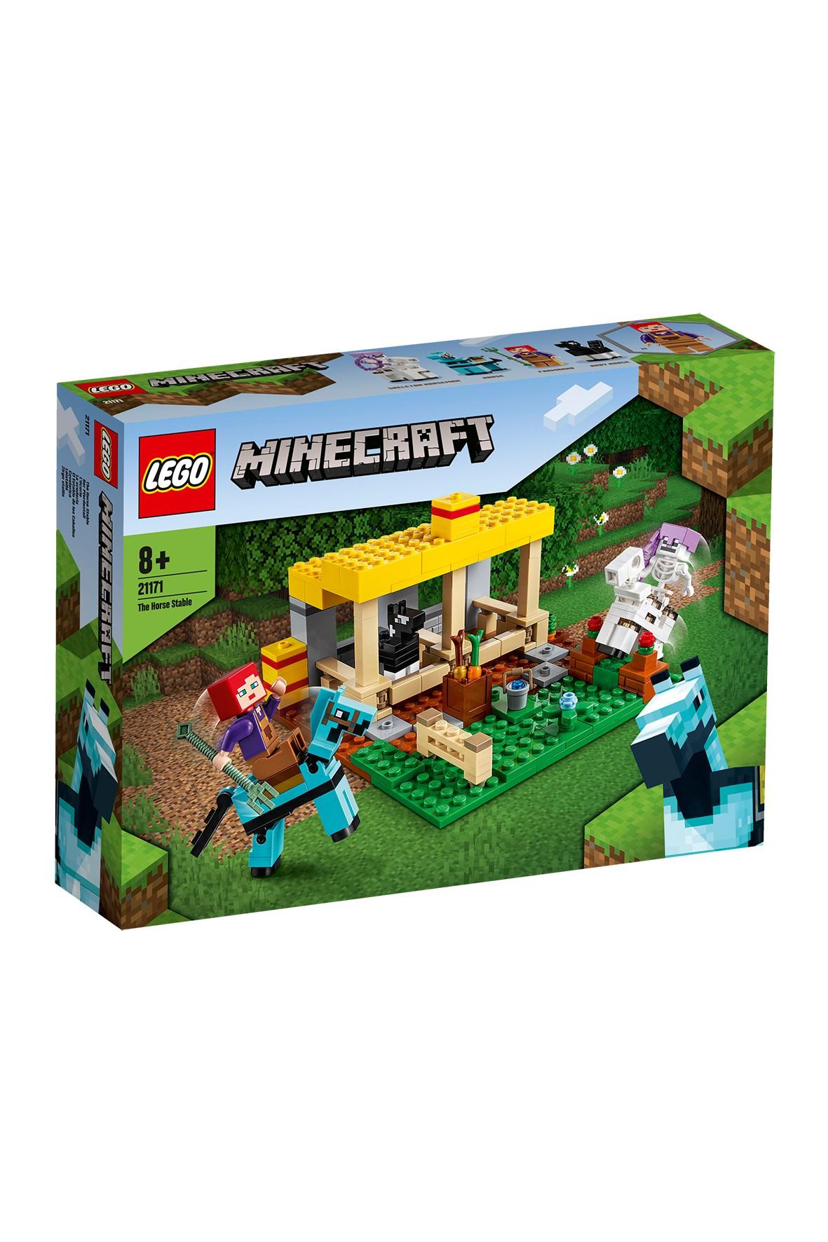 LEGO Minecraft - Stajnia 21171 - 241 el wiek 8+