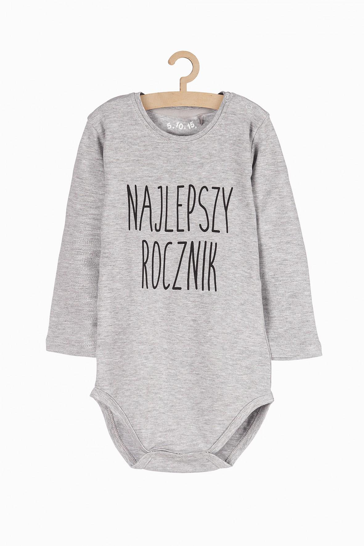 Body niemowlęce z napisem - Najlepszy Rocznik