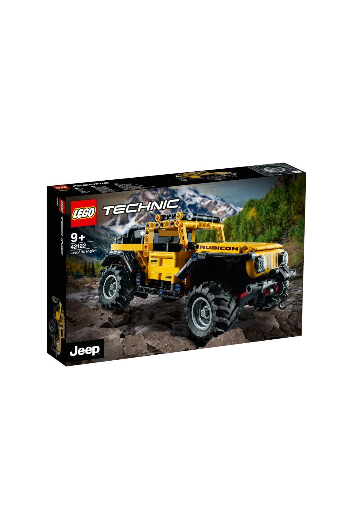 LEGO Technic - Jeep Wrangler  - 665 elementów