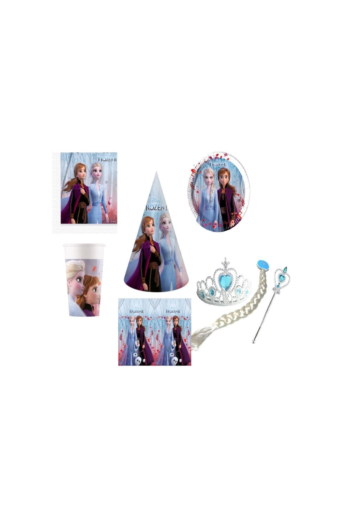 Zestaw urodzinowy Frozen II  - 44 elementy