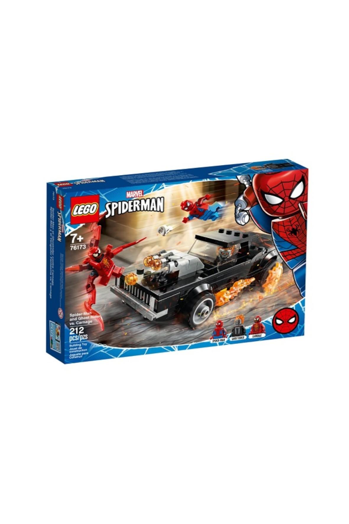 LEGO Super Heroes-Spider-Man i Upiorny Jeździec kontra Carnage-212 el