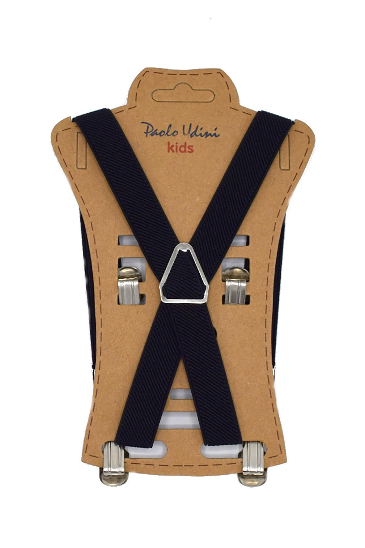 Szelki chłopięce do spodni 50 cm - czarne