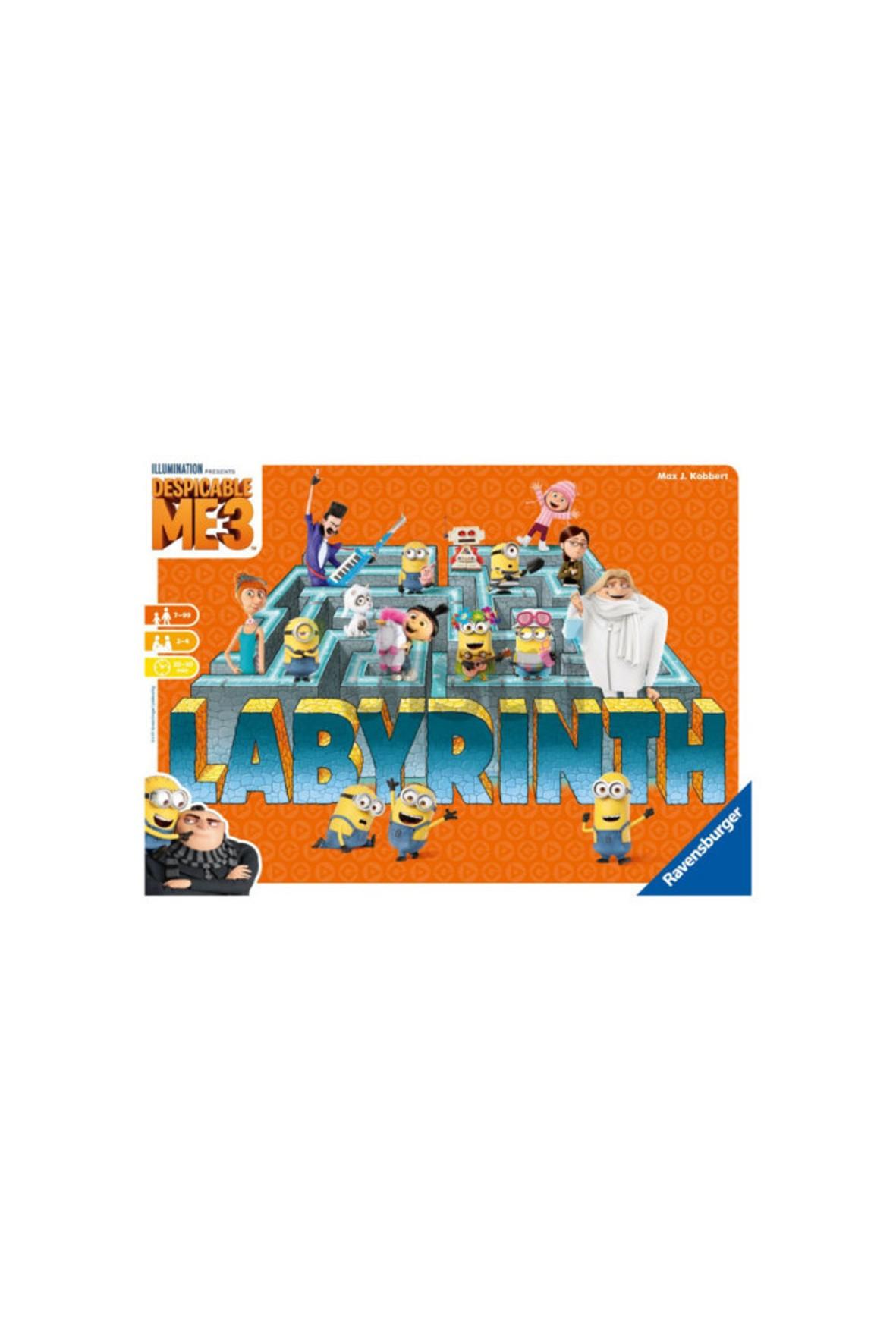 Gra Labirynt Minionki 7+