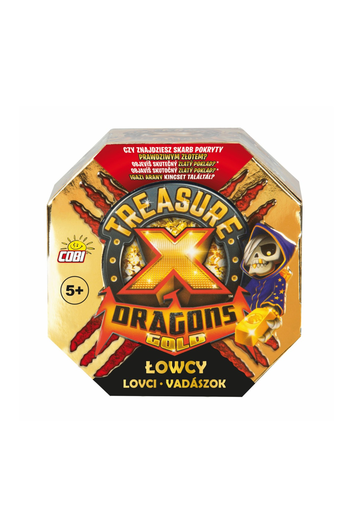 TreasureX Dragons Gold Łowca