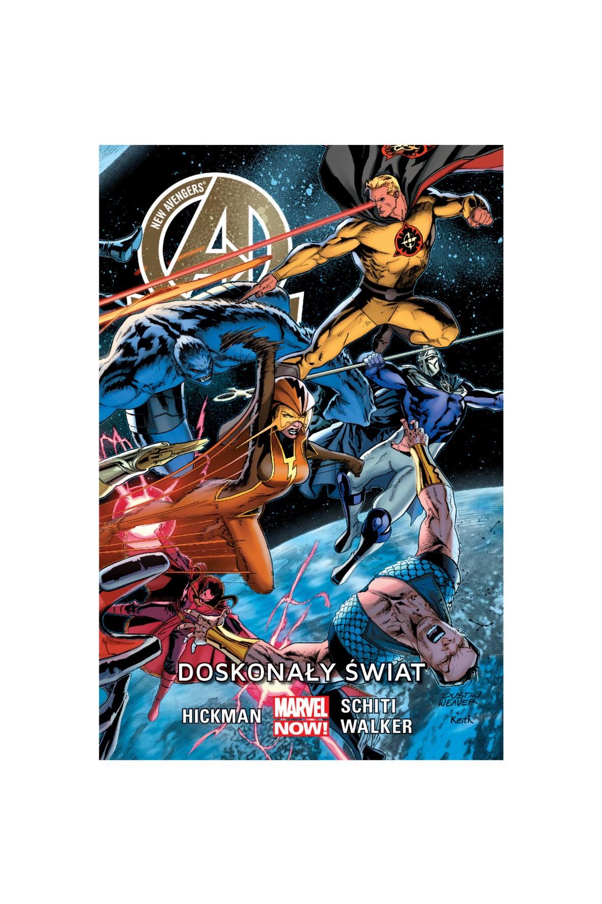 New Avengers: Doskonały świat. Tom 4