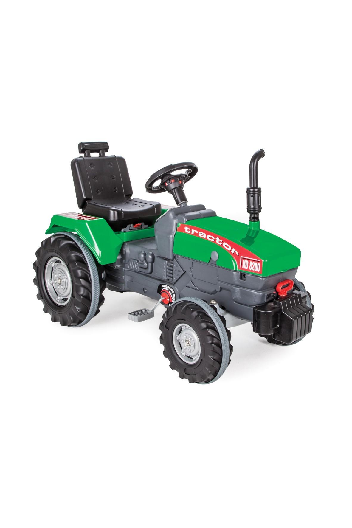 Traktor na pedały zielony