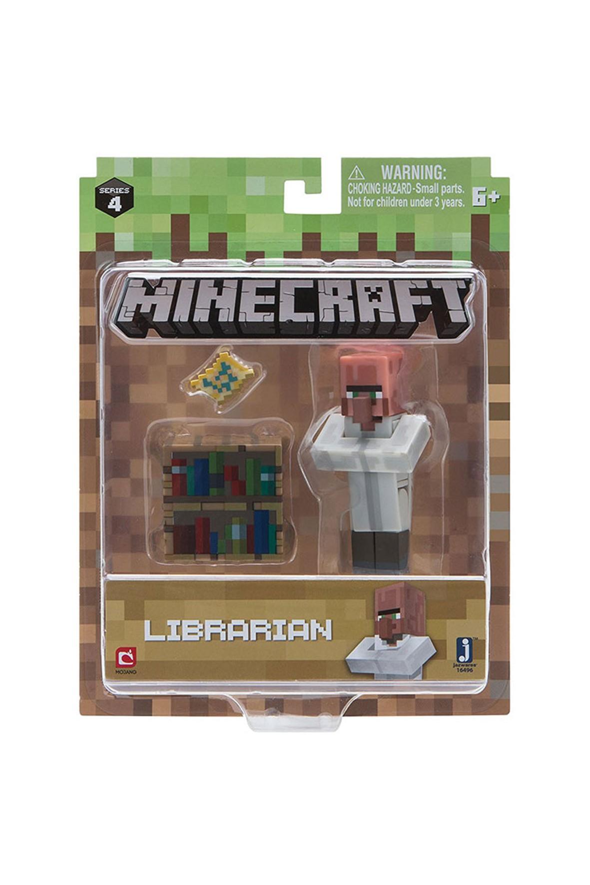 Figurka Bibliotekarz Minecraft