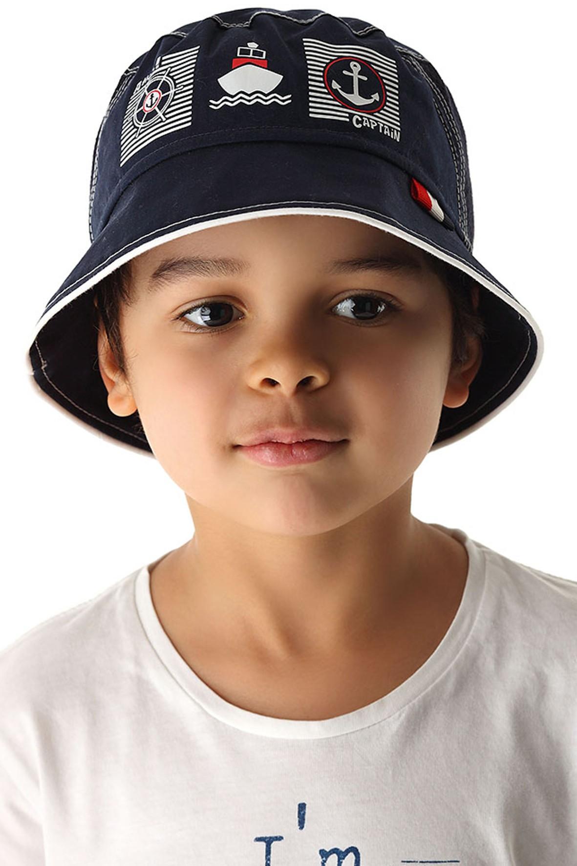 Bawełniany kapelusz dla chłopca