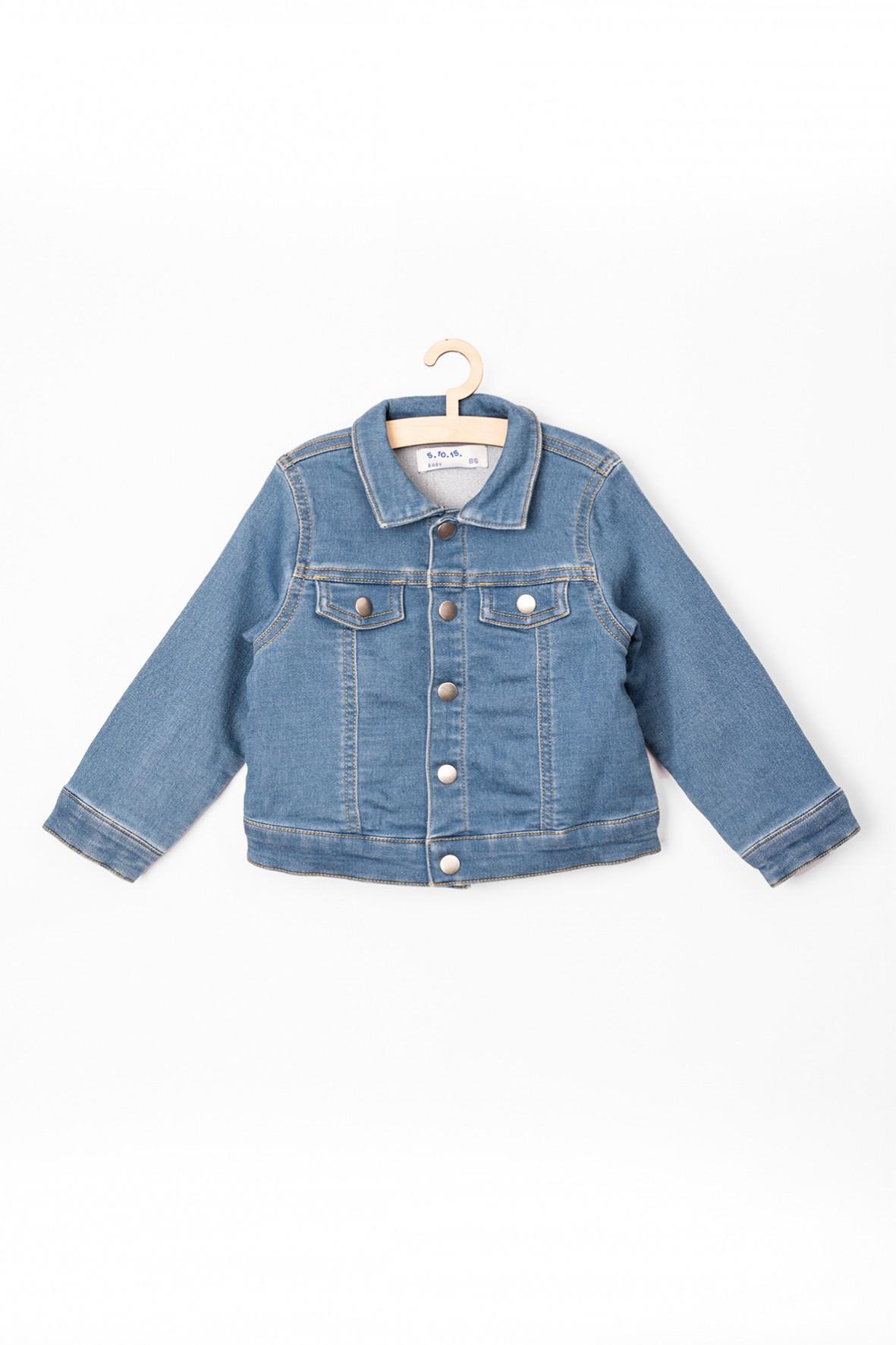 Kurtka niemowlęca jeansowa niebieska