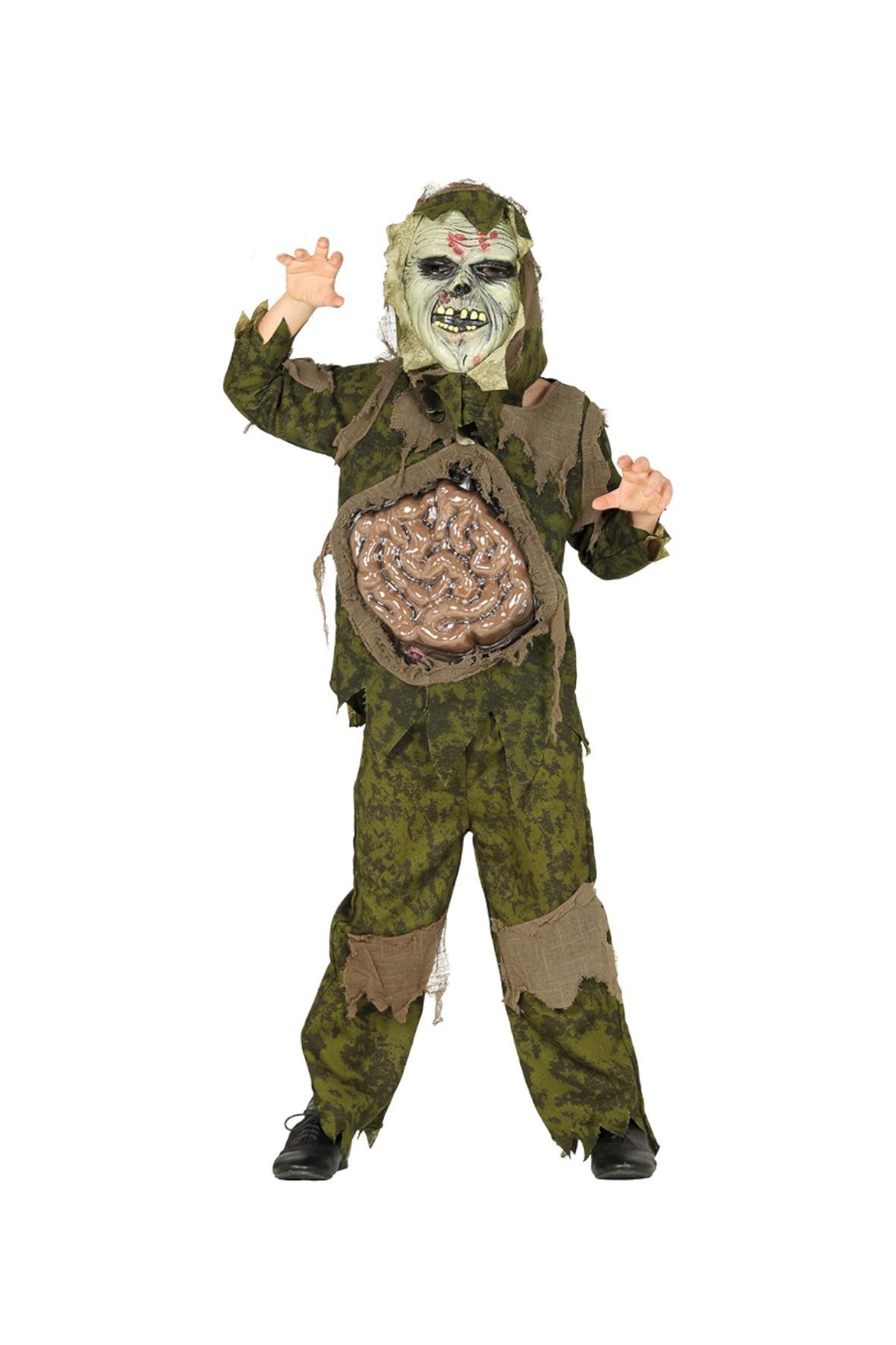Strój karnawałowy chłopięcy Zombie