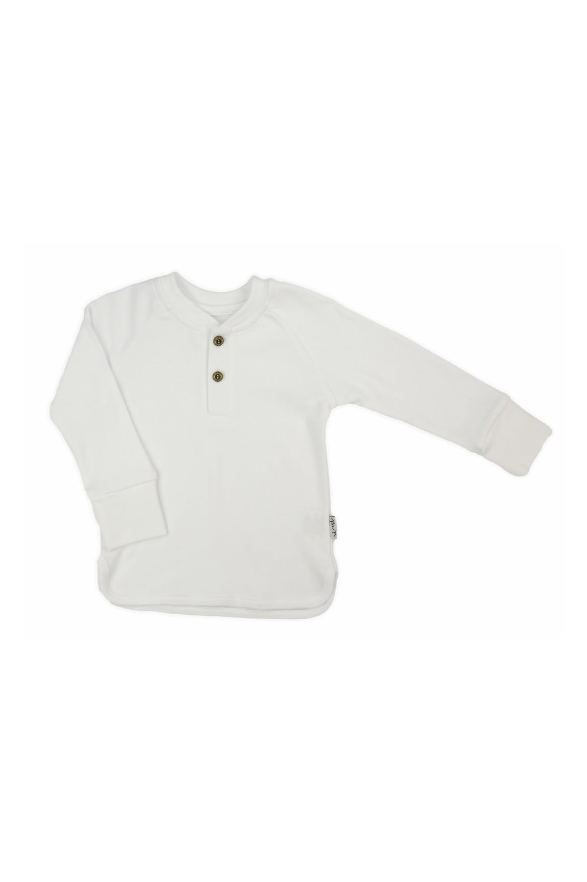 Bluzka bawełniana chłopięca-długi rękaw
