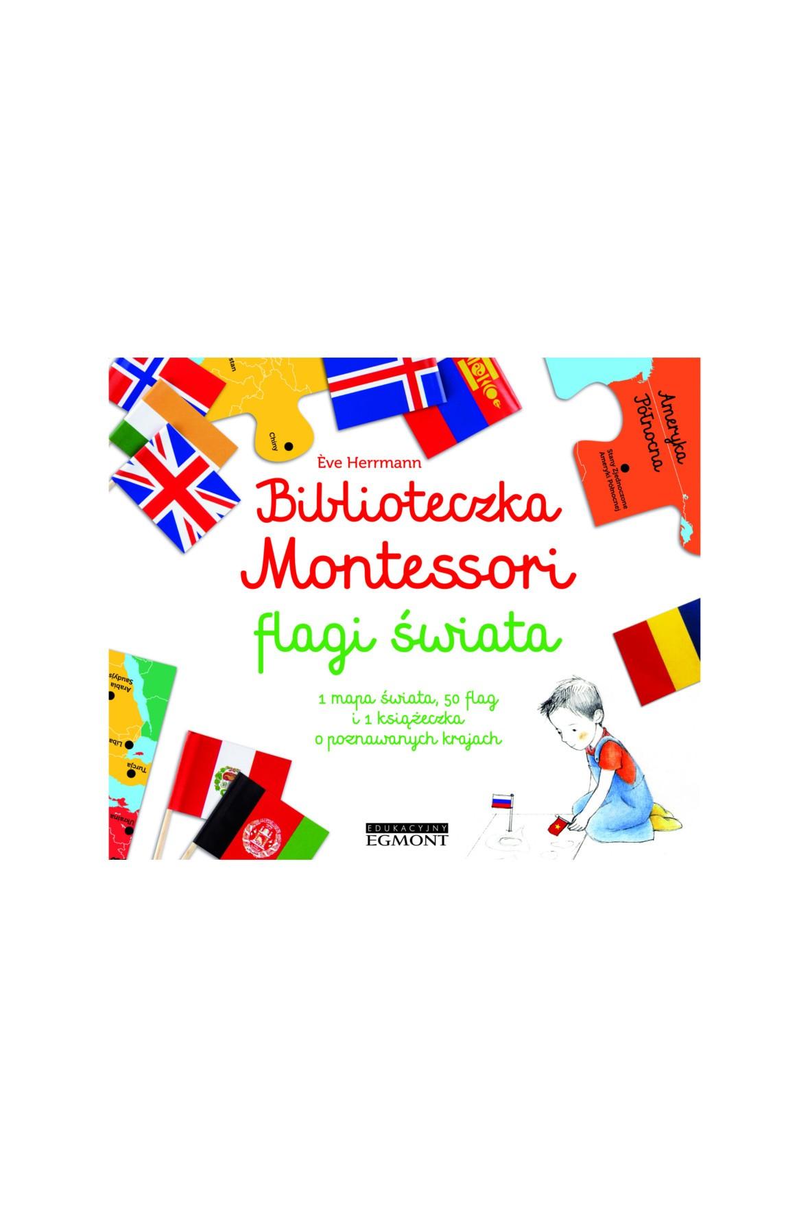 Biblioteczka Montessori. Flagi Świata