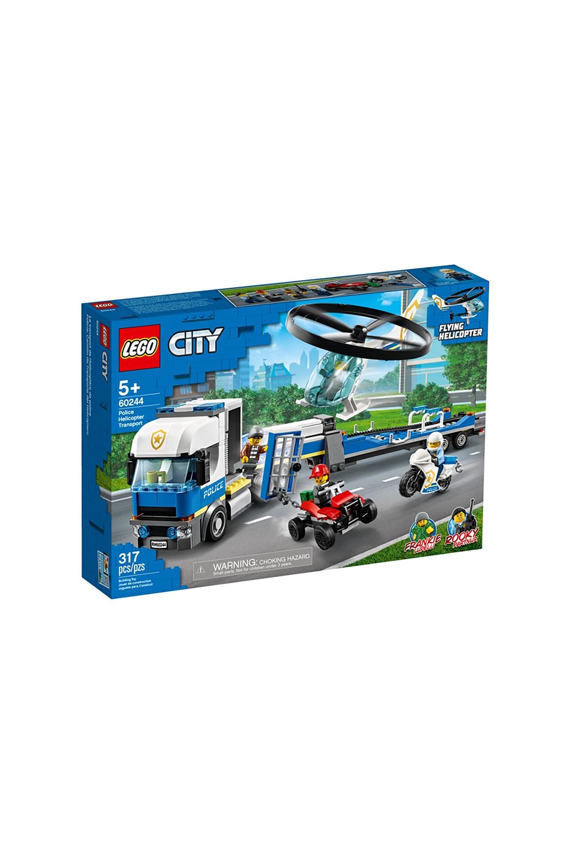 LEGO City Laweta helikoptera policyjnego (60244) wiek 5+