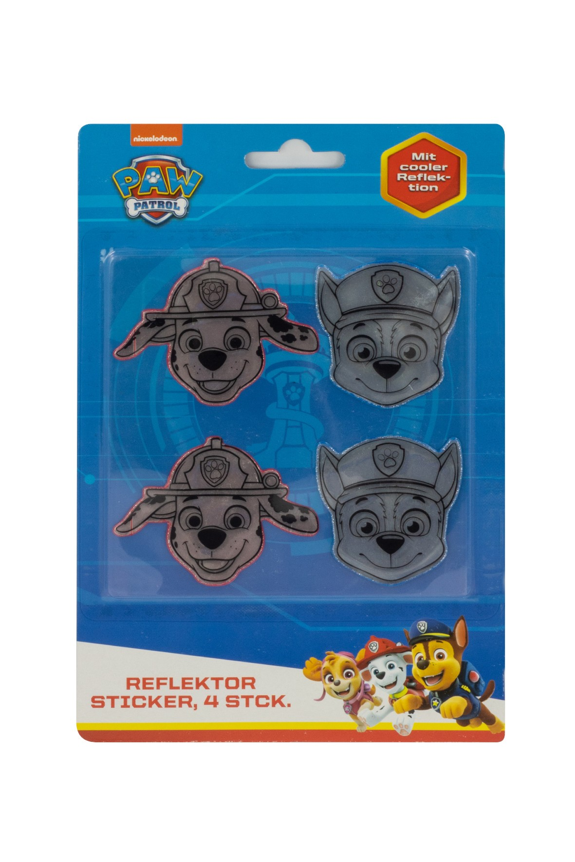 Naklejki odblaskowe Psi Patrol