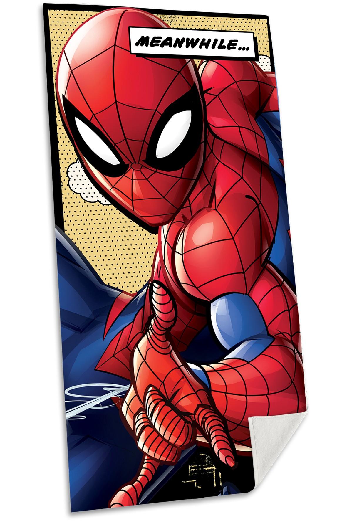Spiderman ręcznik bawełniany 70x140 cm