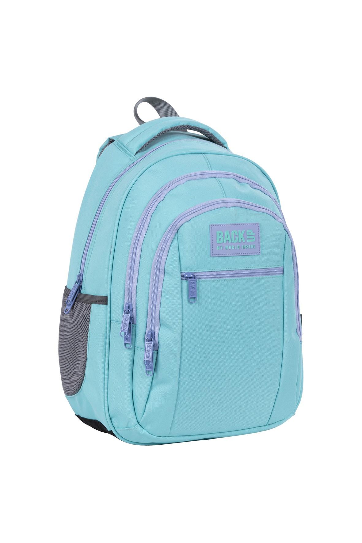 Plecak szkolny BackUp dziewczęcy niebieski