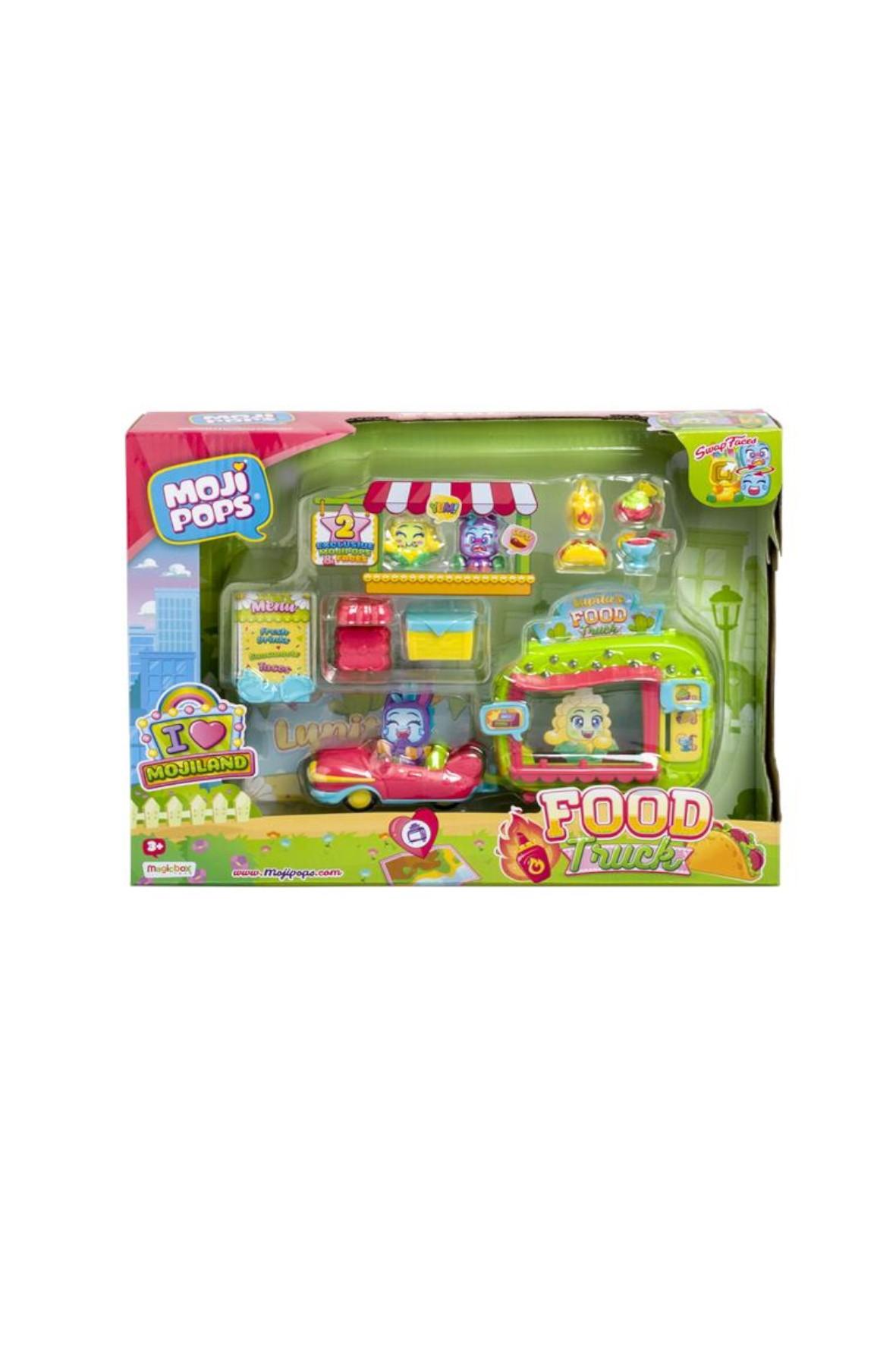 Moji Pops MojiLand I Love Food Truck furgonetka + 2 figurki wiek 3+