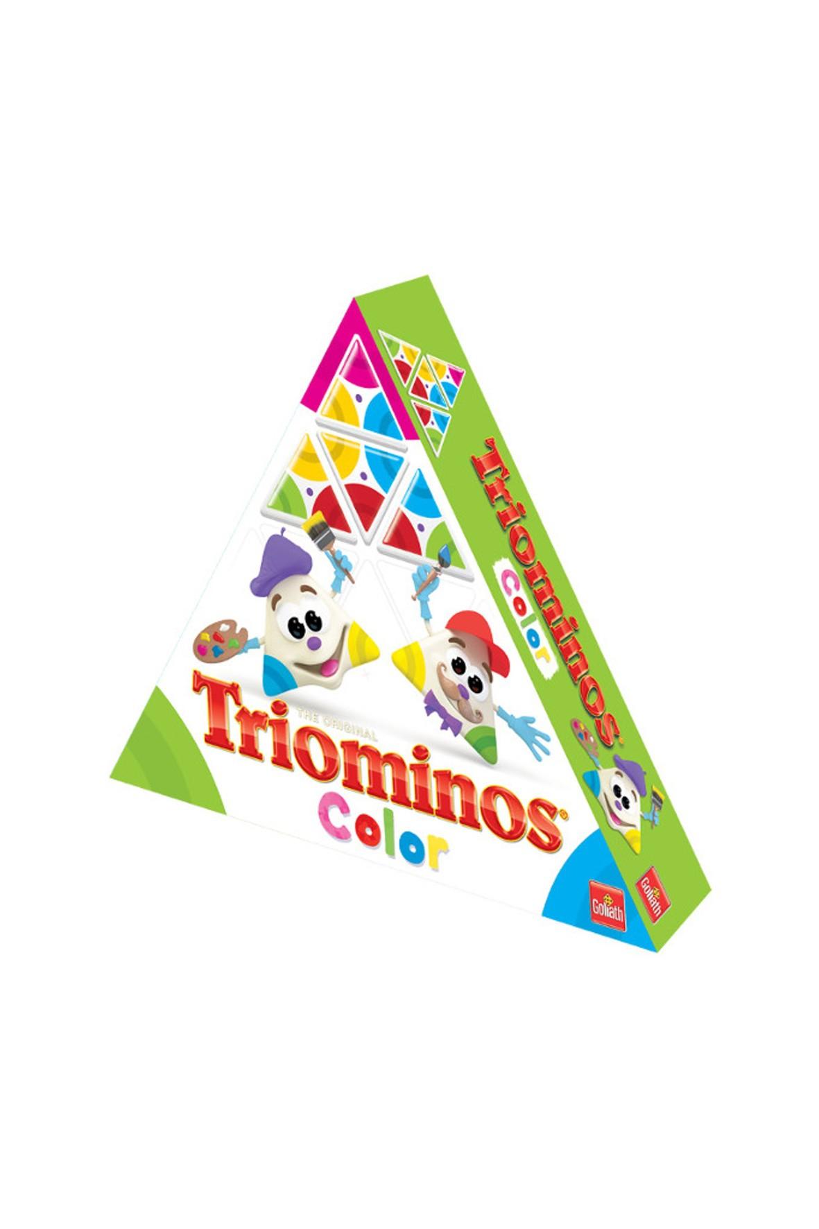 Gra Triominos color match