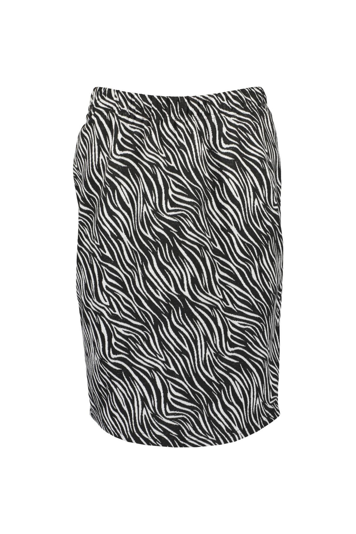 Spódnica damska  -  wzór zebra