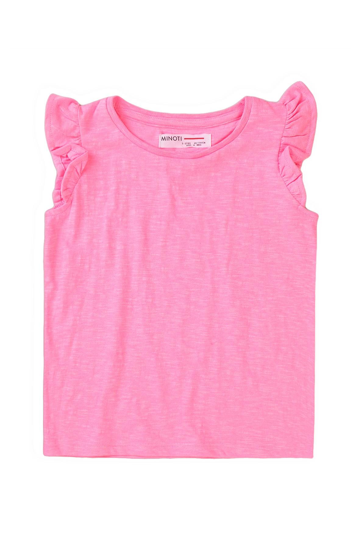 Bluzka niemowlęca w kolorze różowym