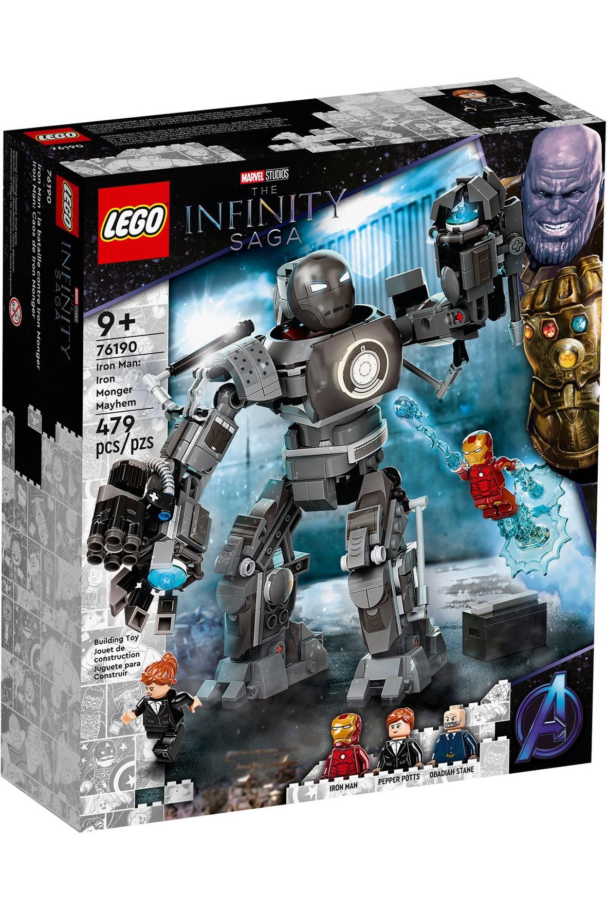 LEGO® Marvel Iron Man 76190 - 479 elementy, wiek 9+