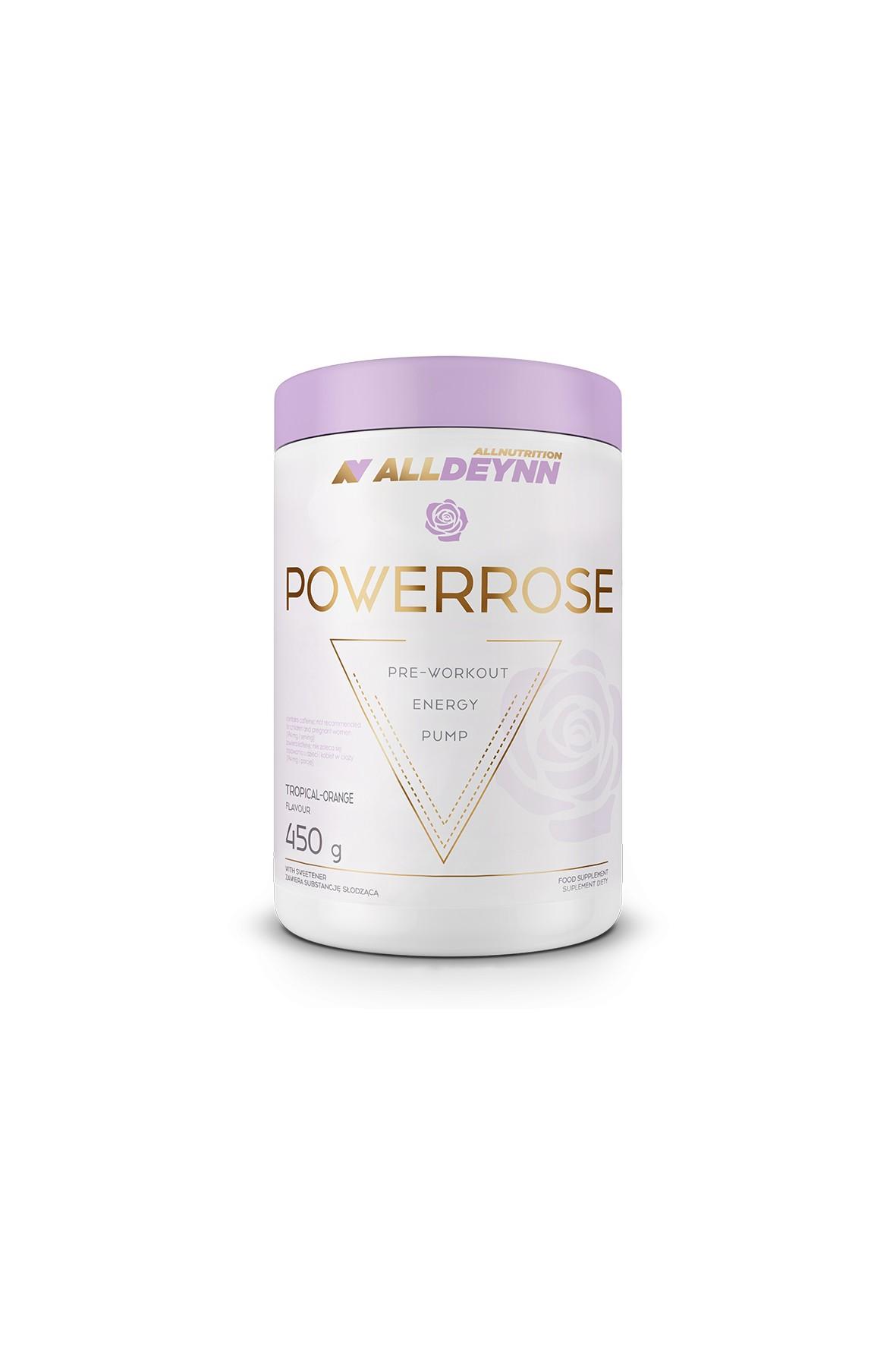 Suplementy diety - Allnutrition ALLDEYNN  Powerrose 450 g Tropical Orange