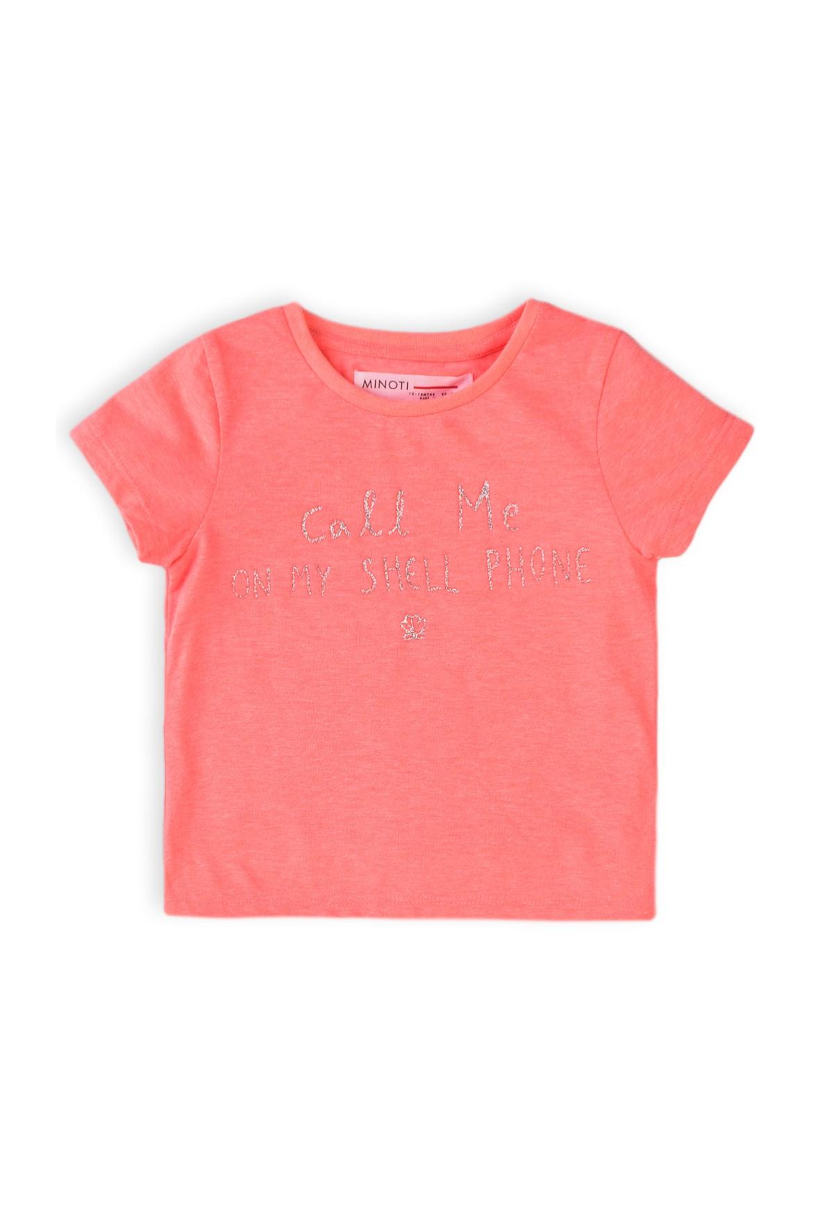 T-shirt dziewczęcy różowy