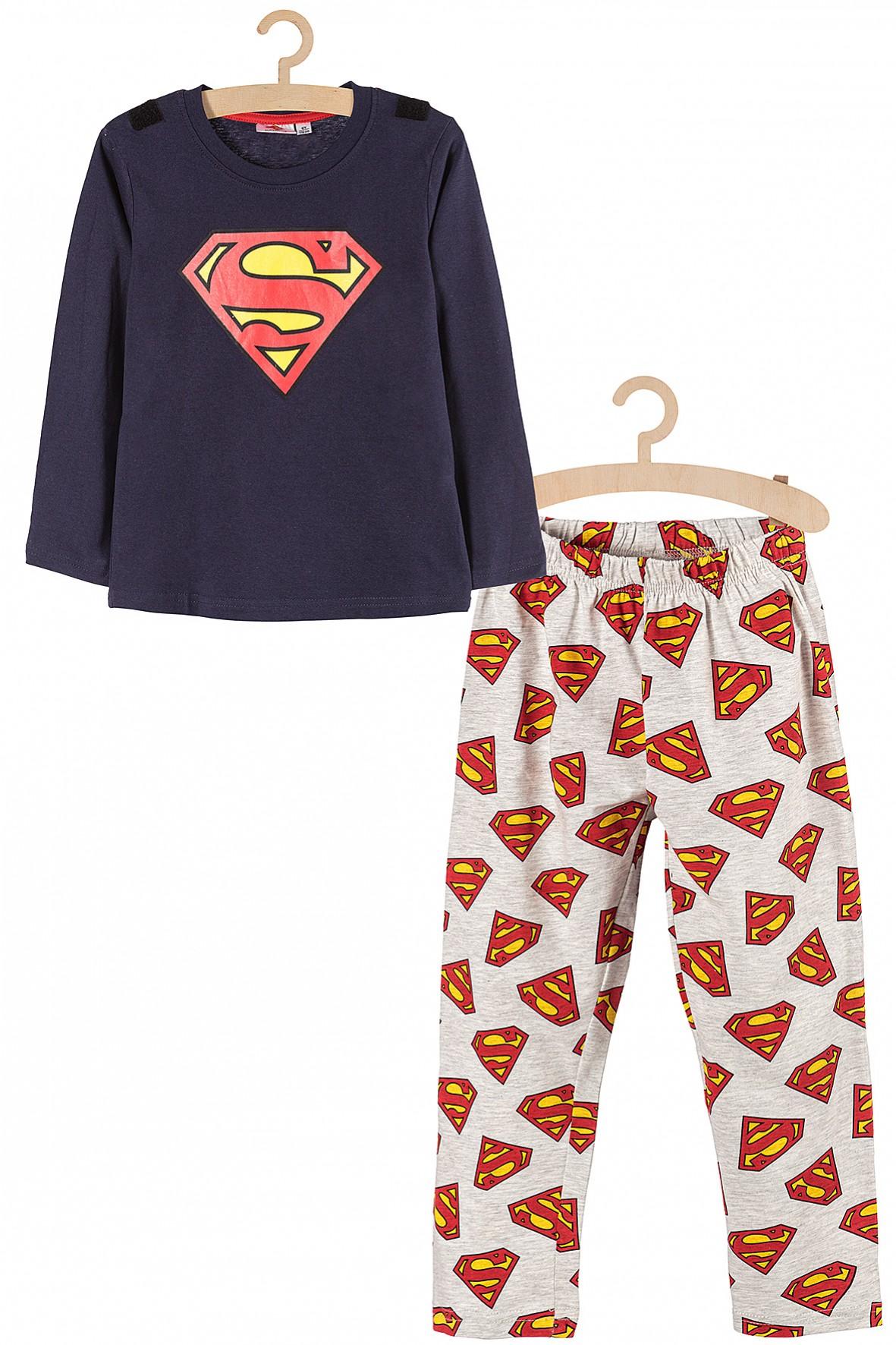 Piżama chłopięca dzianinowa Superman