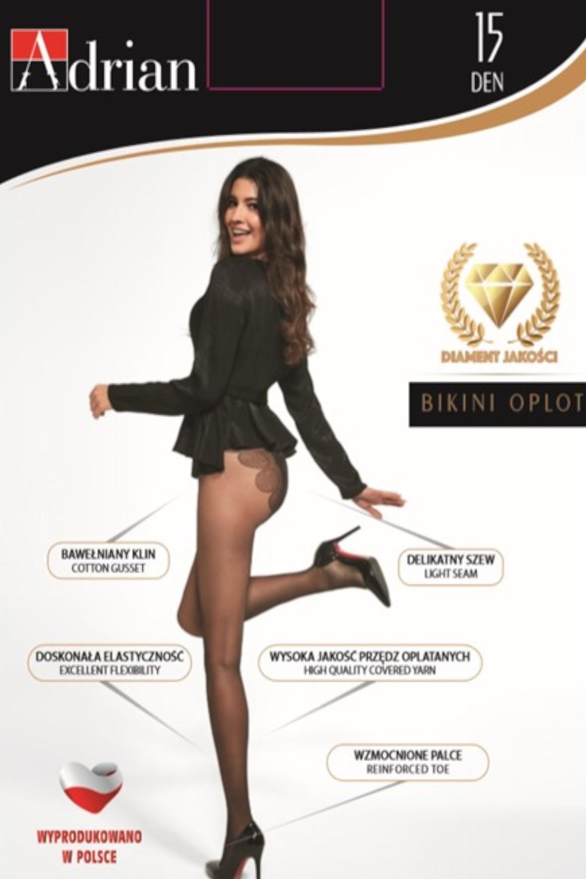 Rajstopy damskie Bikini 20 DEN - czarne