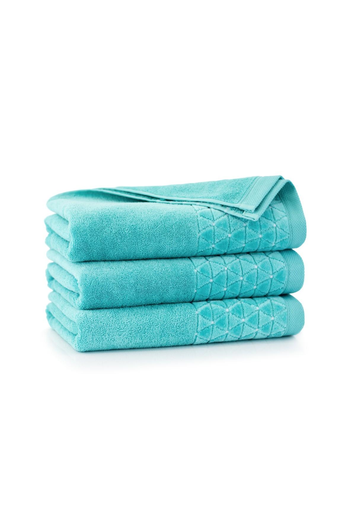 Ręcznik antybakteryjny Oscar z bawełny egipskiej patyna- 70x140 cm